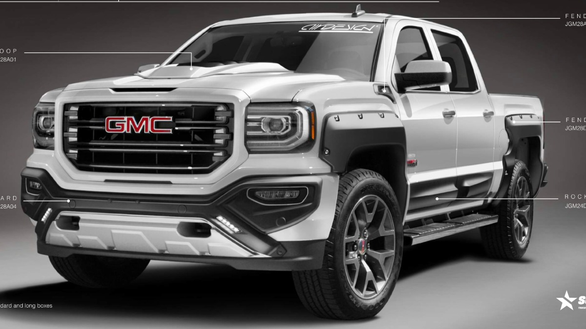 Kit Off Road Airdesign Gmc Sierra 2016 2017 Burrera ...