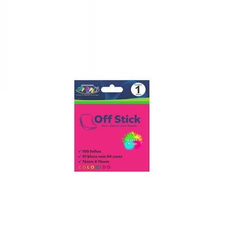 kit off stick 4 bloco adesivo 38mm x 50mm + 1 bloco adesivo