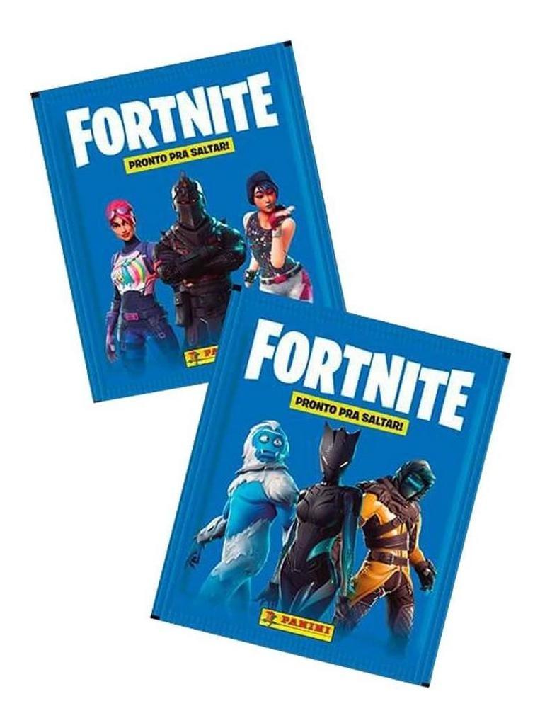 Kit Oficial Fortnite Com 60 Figurinhas Aleatorias Panini