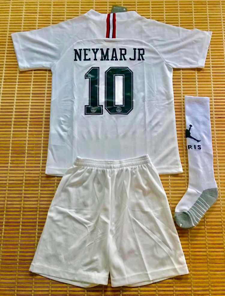 4a2017fd4 kit oficial psg x jordan infantil neymar jr 10. Carregando zoom.