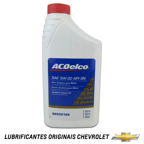 kit oleo 5w30 + filtro de oleo blazer 2.0 e 2.2