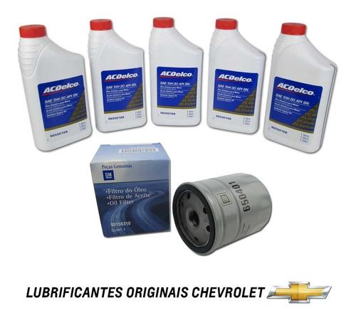 kit oleo 5w30 + filtro de oleo gm blazer 2.0 e 2.2