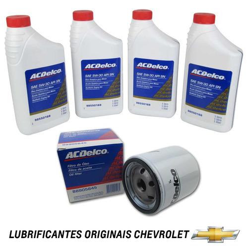 kit oleo 5w30 + filtro de oleo spin