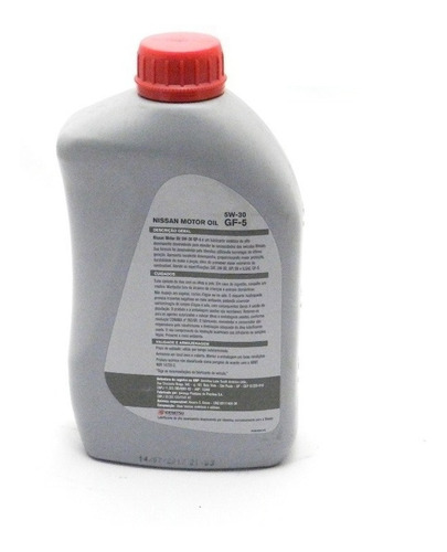 kit óleo 5w30 nissan + fltros ól comb ar grand livina tiida