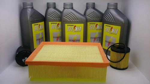 kit óleo 5w40 + filtros 307 2.0  c4 pallas gran picasso 2.0