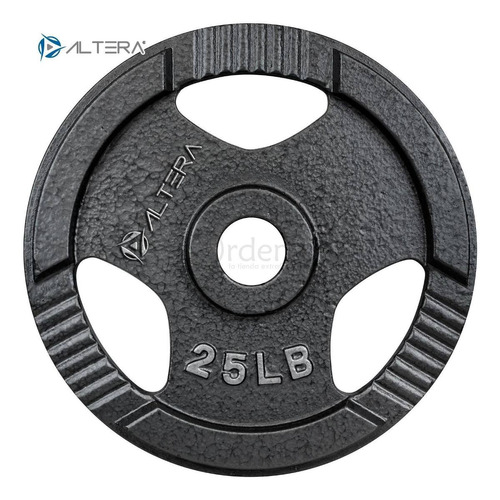kit olímpico de pesas barra z, discos - 105lbs