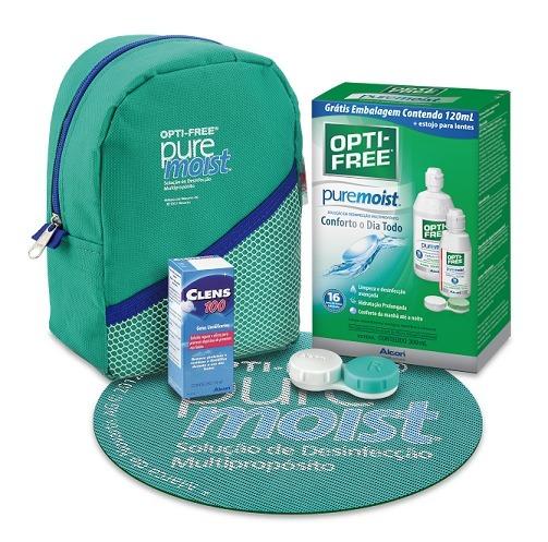 0c0499f4447bc Kit Opti-free Puremoist 420ml - Limpeza De Lentes De Contato - R  94 ...