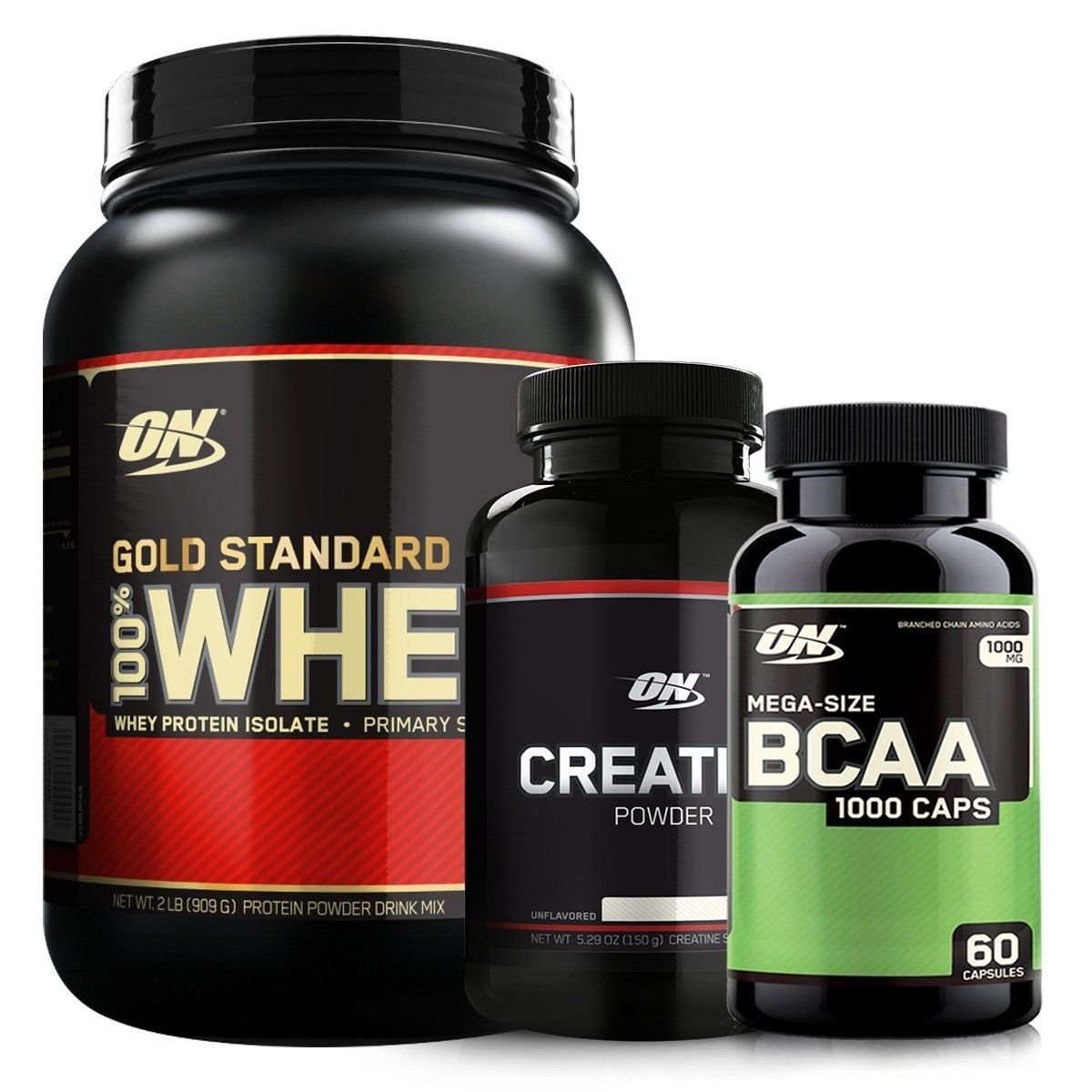 4528264e7 kit optimum nutrition whey gold isolado + creatine + bcaa. Carregando zoom.