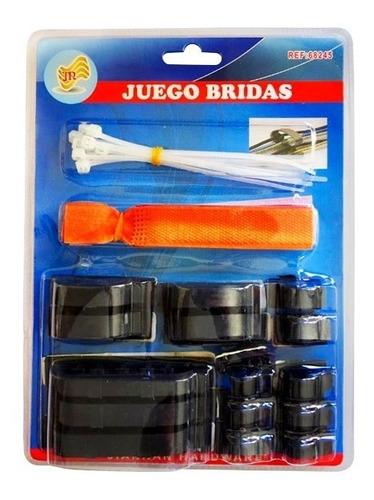 kit organizador de cables - bigbull