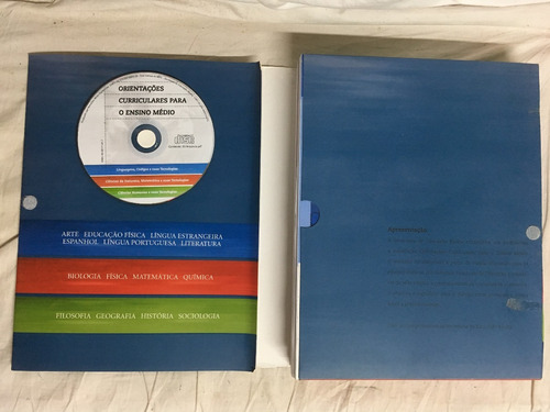 kit orientações curriculares para o ensino médio