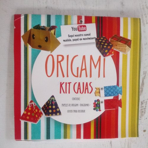 kit origami cajas