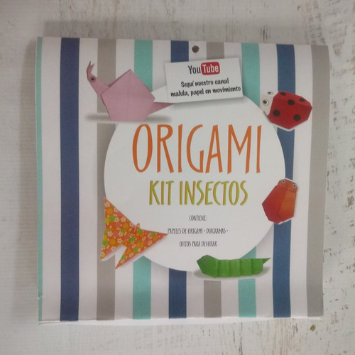 kit origami insectos