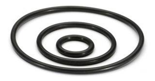 kit oring vedação polegada - 382 anéis de 30 medidas