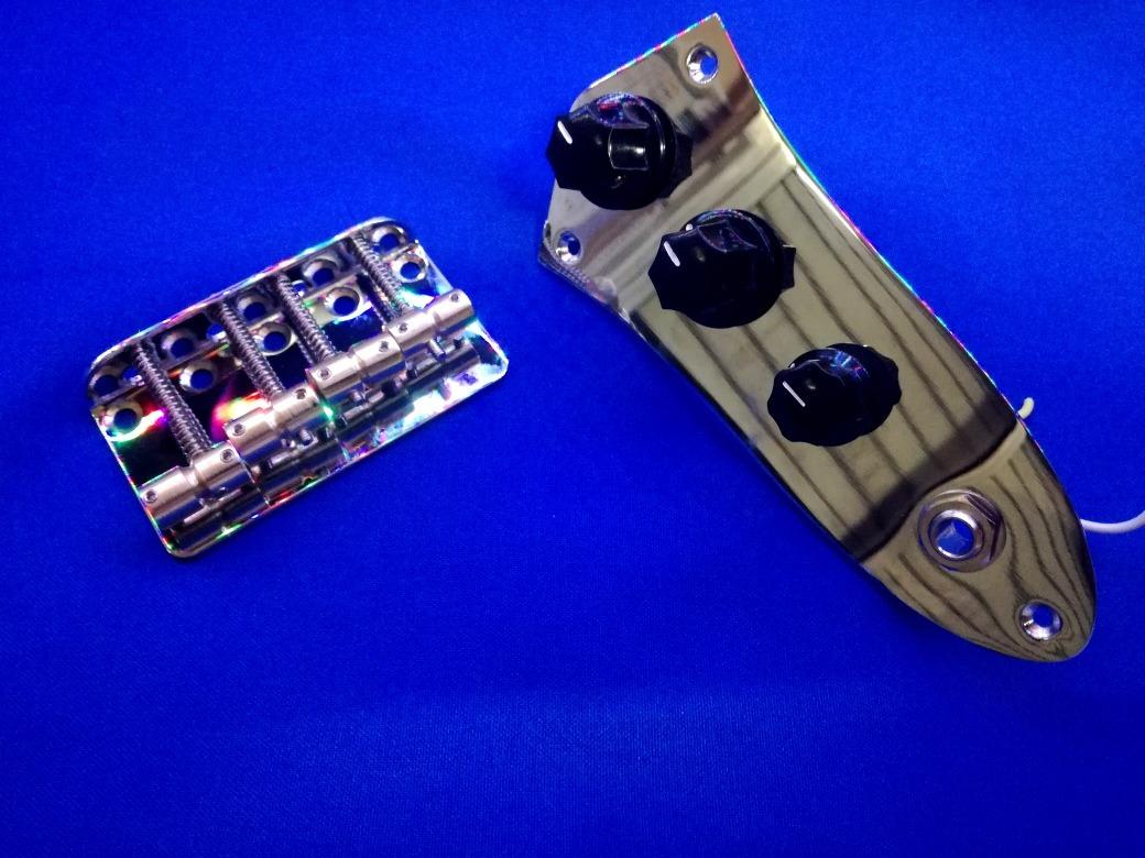 Circuito Jazz Bass : Kit p bajo jazz bass circuito pasivo puente c bronce