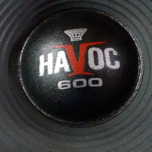 kit p/ reparo alto-falante oversound havoc st 12st-600 4ohms
