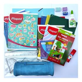 Kit, Pack, Set De Artículos, Útiles Escolares.