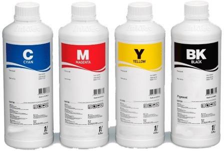 kit pack tinta impresora cartuchos sistema continuo 4 litros