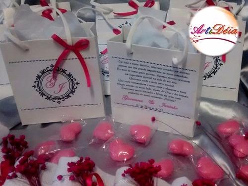kit padrinhos de casamento, convite/lembrança 12 x s/ juros