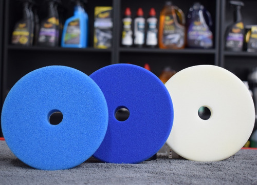 kit pads de pulido buff and shine 5 pulgadas