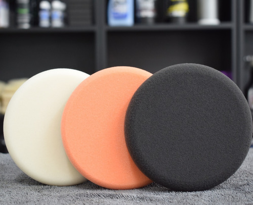 kit pads de pulido gktek 5 pulgadas alta calidad