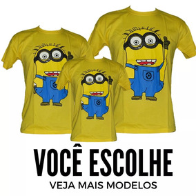 409c602dd2 Kit Pai Mae Minions no Mercado Livre Brasil