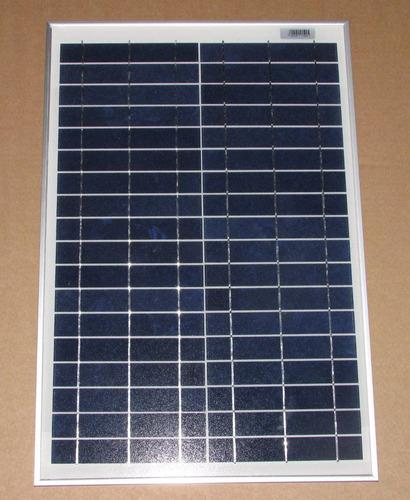 kit painel placa solar fotovoltaica 20w + controlador carga