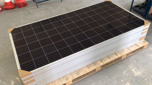 kit paine/placa solar 320w policristalina + 10 pares de mc4!