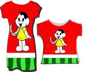 3443e6f8a Blusa Personalizada Da Magali - Camisetas e Blusas no Mercado Livre ...