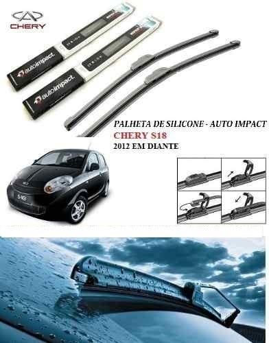 kit palheta automotiva de silicone chery s18 2012 em diante