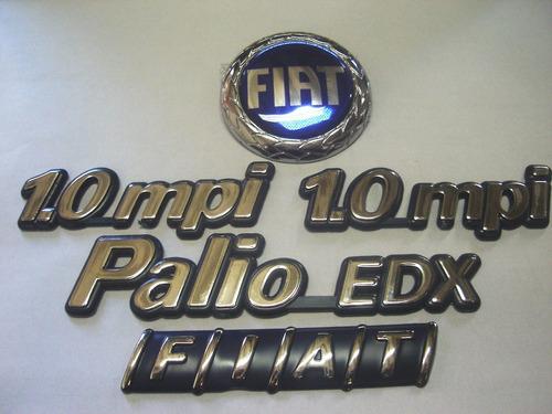 kit palio edx + 2x 1.0mpi + capo azul + mala 96/99 - bre