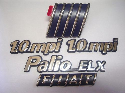 kit palio elx + 2x 1.0mpi + mala + capo 98/00 - bre