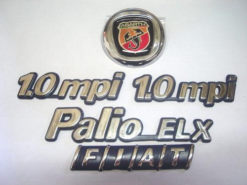 kit palio elx + 2x 1.0mpi + mala + capo abarth 98/00 - bre