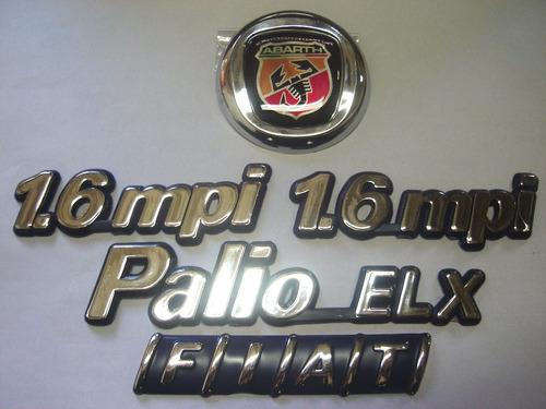 kit palio elx + 2x 1.6mpi + mala + capo abarth 99/01 - bre
