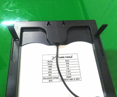 kit panel solar 6 watts