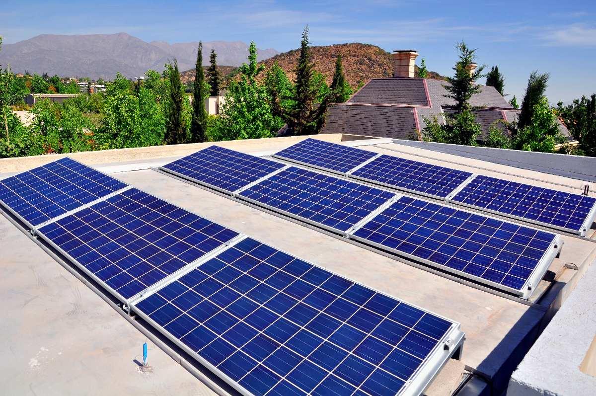 Kit panel solar fotovoltaico kaltemp a la red para techos for Panel solar pequeno