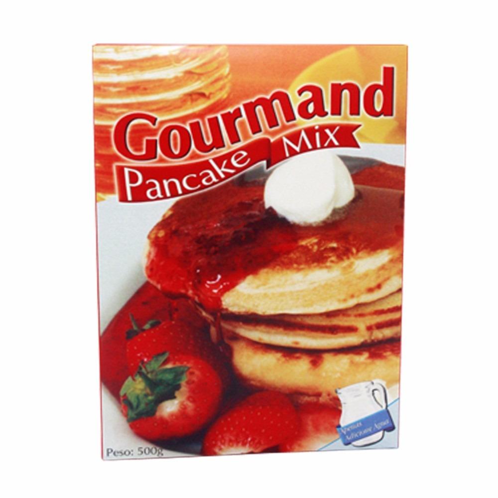 Kit Panqueca Massa Pancake E Xarope Maple Syrup 100%