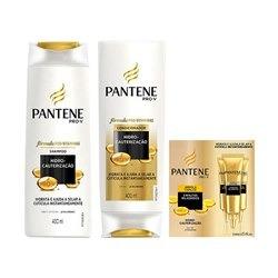 961dc067d Kit Pantene Hidro-cauterização Shampoo + Condicionador + - R$ 50,89 ...