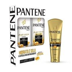 64f1b3bf8 Kit Pantene Hidro-cauterização Shampoo + Condicionador + 3 - R$ 34 ...
