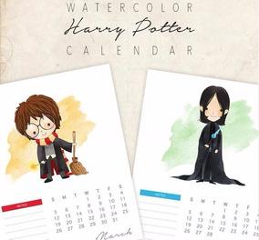 Calendario Harry Potter.Papeles Digitales En Kit Calendario Harry Potter 2019
