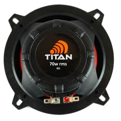kit par falantes titan 5  150w rms ( 75 +75 ) quadriaxial