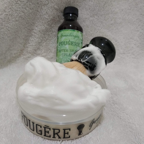 kit para afeitar fougére