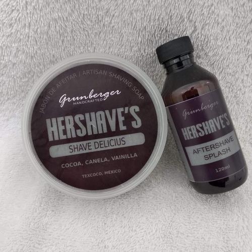kit para afeitar hershaves