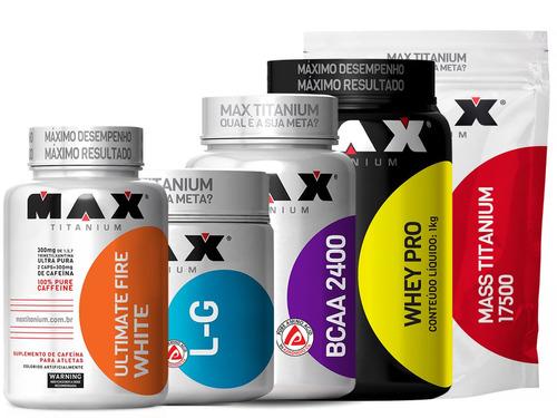 kit para aumento da imunidade massa definicao muscular