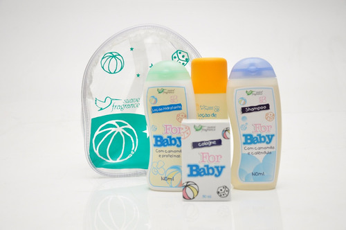 kit para bebês - for baby suave fragrance