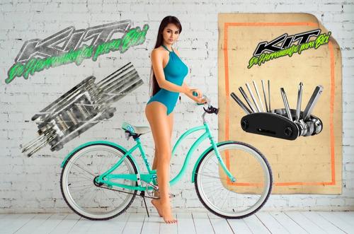 kit para bicicleta herramientas portatiles util y compacto