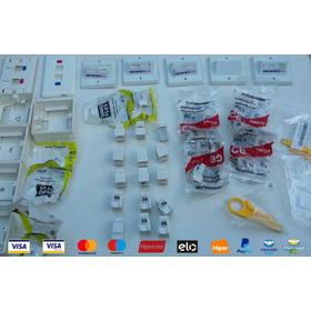 Kit Para Cabeamento Estruturado  Com 32 Peças