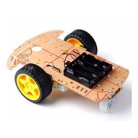 Kit Para Carro Smart Robot Chasis Auto Inteligente Arduino