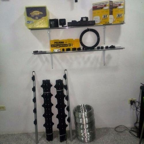 kit para cerco eléctrico 30 metros
