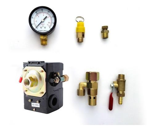 kit para compresor con switch furnas sin manifold (1 via)