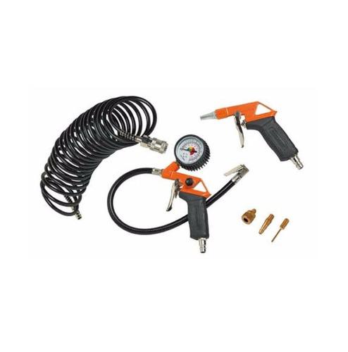 kit para compresor de aire 6 piezas bck6 black + decker